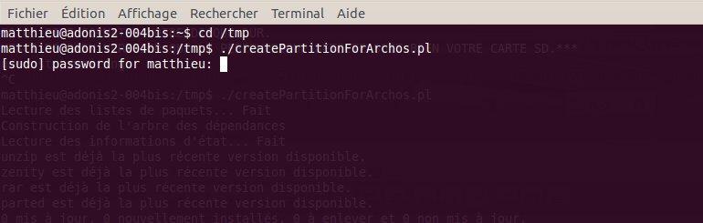 Script d'installation d'UrukDroid sur votre Archos Gen 8 (1/6)
