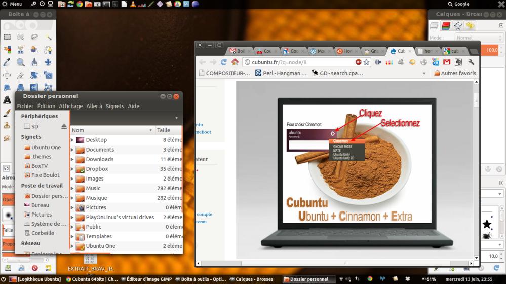 Mes impressions d'Ubuntu 12.04, professionnelle ! (Cubuntu 12.04 en fait...) (1/2)